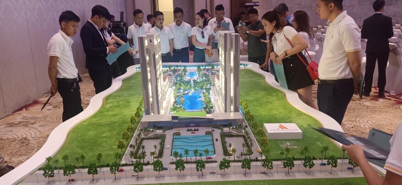Sa Bàn Dự án Aria Đà Nẵng Hotel And Resort. Ảnh: Danh Khôi Group