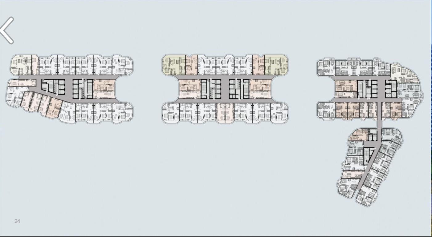 Mặt bằng tổng thể dự án The Aston Nha Trang