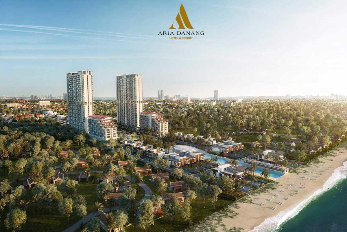 Phối cảnh Dự án Aria Đà Nẵng Hotel And Resort. Ảnh: Danh Khôi Group