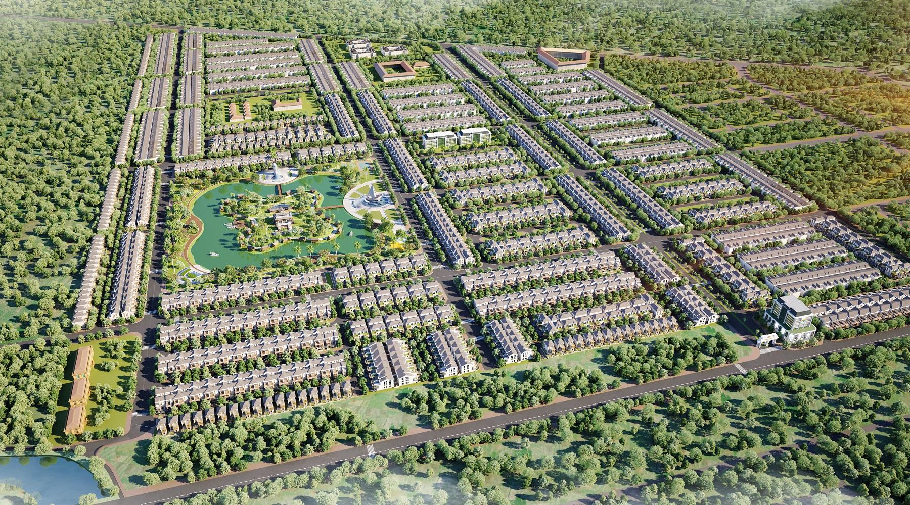 Phối Cảnh Cà Mau New City